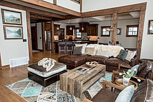 Lodge at Whitefish Lake - Lodge suites