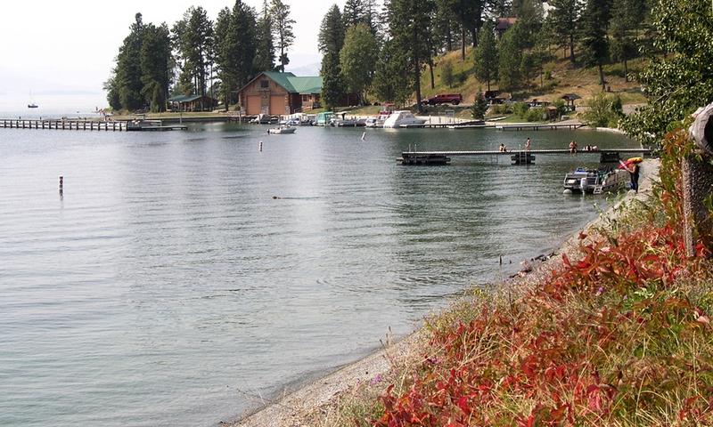 Bigfork Big Fork Montana Bay Flathead Lake