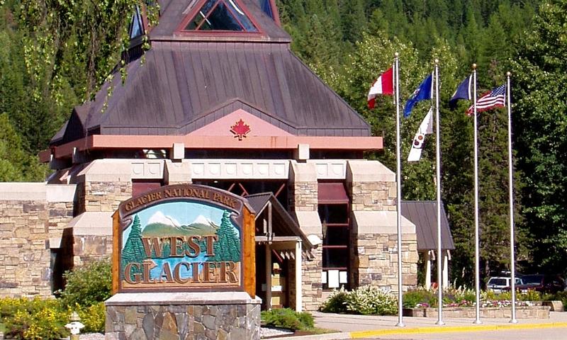 Glacier National Park Montana West Glacier Visitor Center